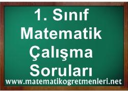 Matematik 1. Sınıf 2. Dönem Çalışma Soruları