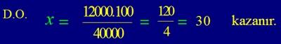 7. Sınıf Matematik Yüzde Hesapları