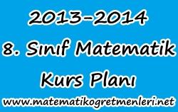 2013-2014 8. Sınıf Matematik Kurs Planı