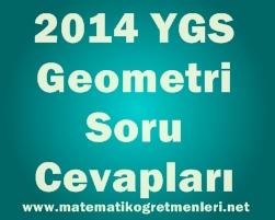 23 Mart 2014 YGS Geometri Soru ve Cevapları