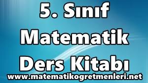 2014-2015 5. Sınıf Matematik Ders Kitabı