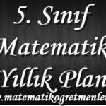 2014-2015 5. Sınıf Matematik Yıllık Plan İndir