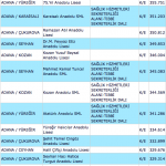 2014 Teog Adana Liseleri Taban Puanları