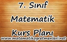2013-2014 Matematik 7. Sınıf Kurs Planı