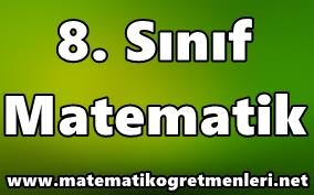 2014-2015 8. Sınıf Matematik Ders Kitabı