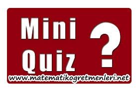 2013-2014 9.Sınıf Matematik 1. Yazılıya Hazırlık – Quiz