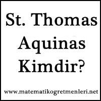 St. Thomas Aquinas Kimdir?