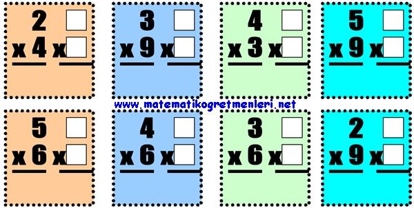 Çarpma İşleminde Yer Değiştirme 2. Sınıf Matematik