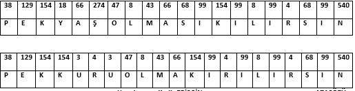 Açı Problemli Bulmaca 4. Sınıf Matematik
