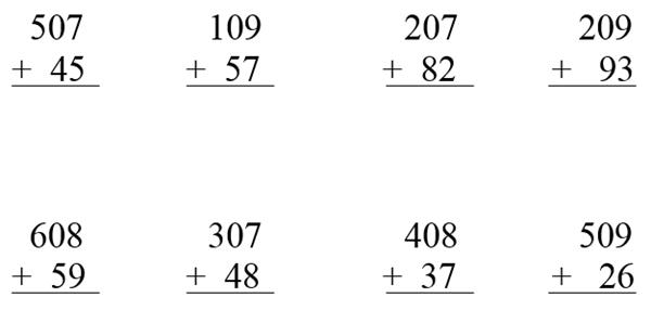 3 Basamaklı Sayı İle 2 Basamaklı Sayıların Toplamı 3. Sınıf Matematik