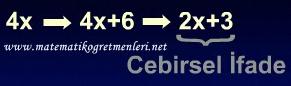 Cebirsel İfadeler, 6. Sınıf Matematik