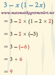 Cebirsel İfadelerin Sayı Değerlerinin Bulunması, 8. Sınıf Matematik