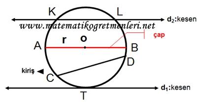 Çemberde Açılar 7. Sınıf Matematik