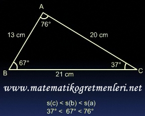 çeşitkenar üçgen