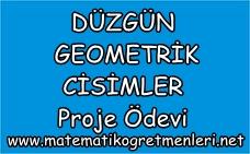 8. Sınıf Matematik Proje Ödevi