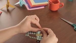 3. Sınıf Origami Koltuk Yapımı