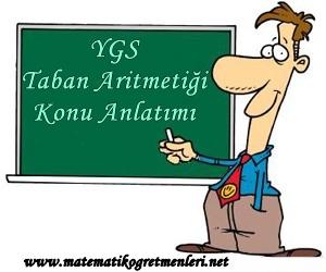 YGS Taban Aritmetiği Konu Anlatımı 2014