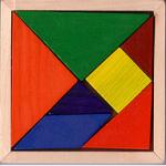 Tangram parçalarının numaralarından yararlanarak soruları cevaplayınız