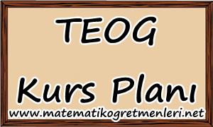8. Sınıf Matematik TEOG Kurs Planı