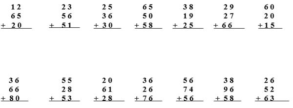 Toplama İşlemi 3. Sınıf Matematik