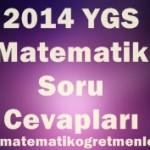 23 Mart 2014 YGS Matematik Soru ve Cevapları
