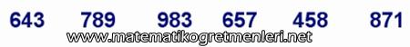 Sayıları En Yakın Onluğa Yuvarlama, 3. Sınıf Matematik